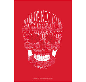 Star Editions Greeting Card: To Be or Not to Be? 1