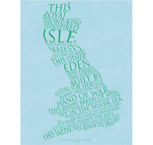 Star Editions Print: Richard II - This Blessed Plot,This Earth,This Realm 1