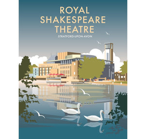 Star Editions Print: Royal Shakespeare Theatre Retro 1