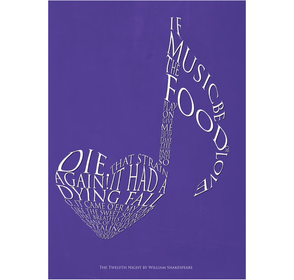 Star Editions Print: Twelfth Night - If Music Be the Food of Love... 1