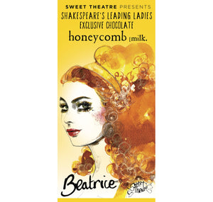 Sweet Theatre Sweet Theatre: Beatrice Honeycomb Milk Chocolate Bar 1