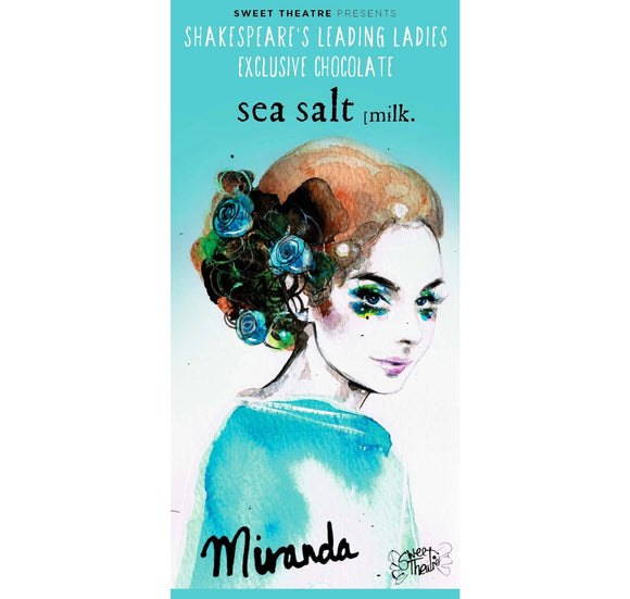 Sweet Theatre Sweet Theatre: Miranda Sea Salt Milk Chocolate Bar 1