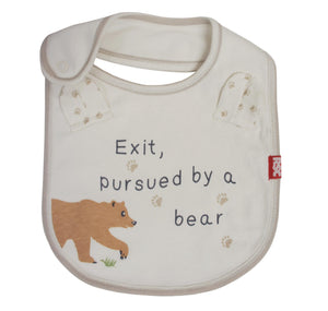 Temple Island Bib: Exit Pursued by a Bear 1