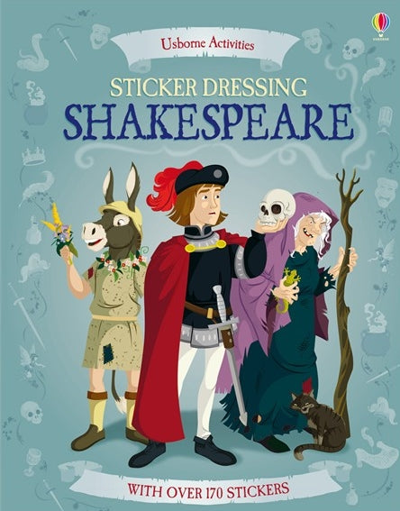 Usborne Books Shakespeare Sticker Book (Usborne) PB 1