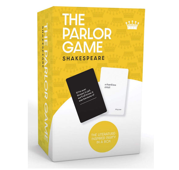 William Shakespeare the Parlor Game