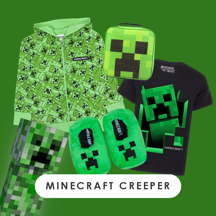 Minecraft Creeper Clothing
