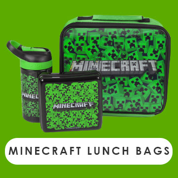 Minecraft Lunch Bags