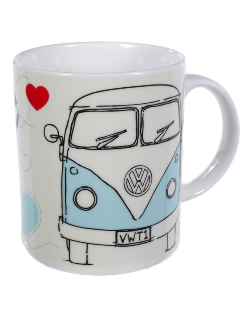 VW Campervan Home Is Where You Park It Mug