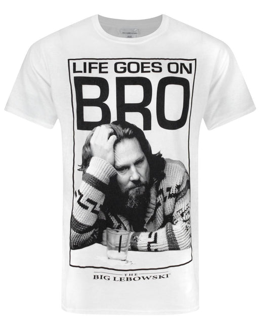 Big Lebowski Life Goes On Bro Men's T-Shirt
