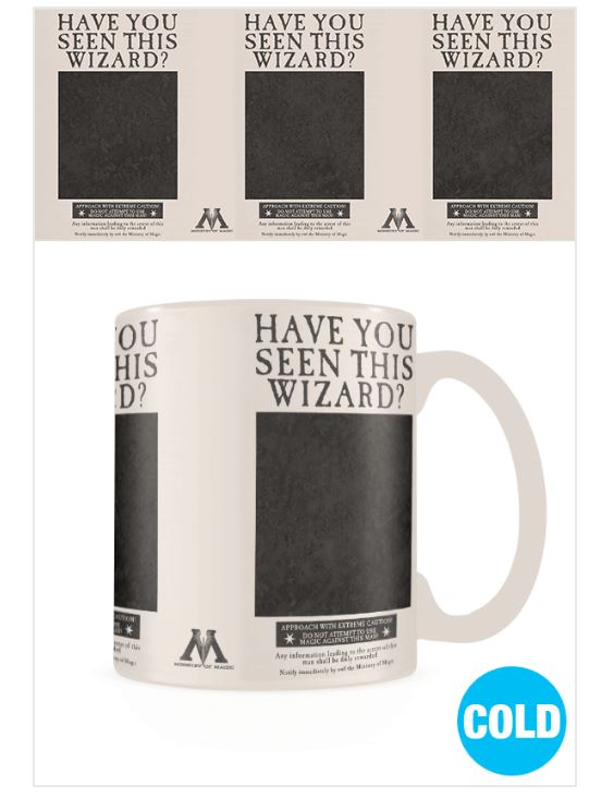 Harry Potter Wanted Sirius Black Heat Changing Mug