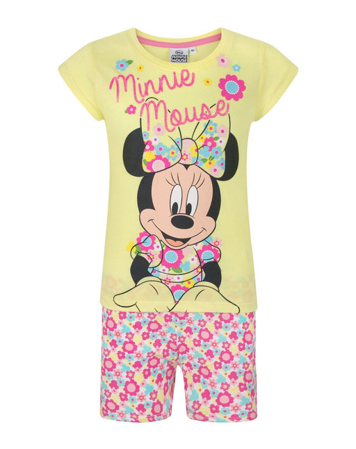 Minnie Mouse Flowers Girl's Pyjamas