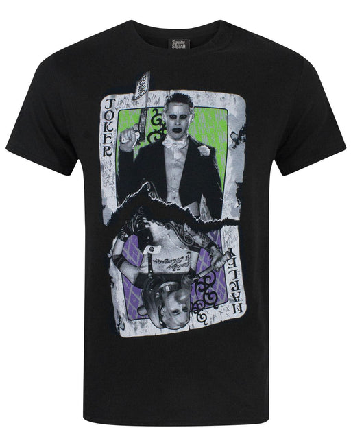 Suicide Squad Joker Harley Card Men's T-Shirt