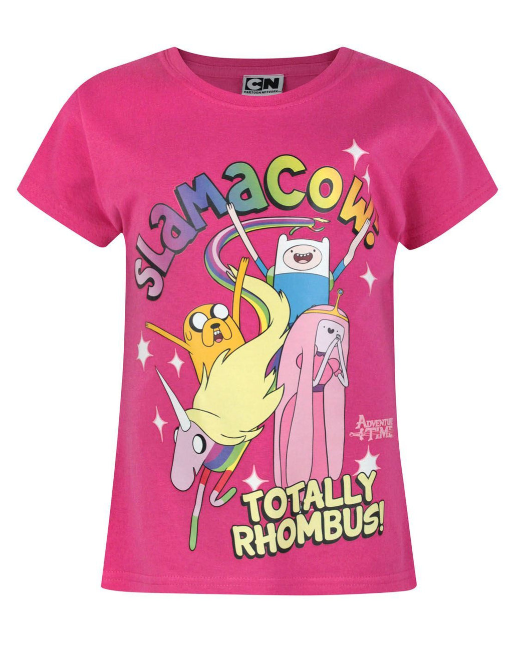 Adventure Time Slamacow Girl's T-Shirt