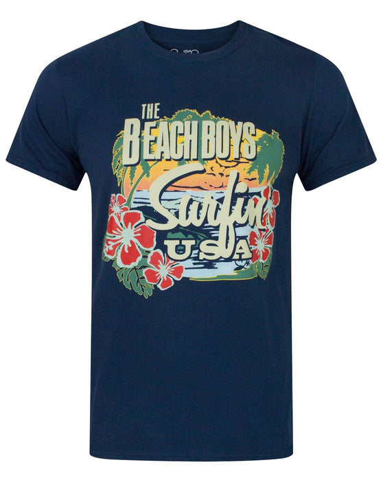 Beach Boys USA Tropical Men's T-Shirt