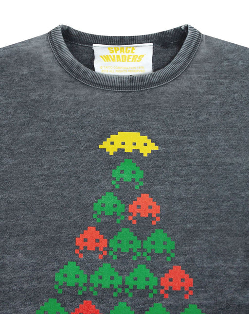 christmas jumper day sweater xmas top mens womens gamer festive retro original cool game gamer 80s arcade tomohiro japan console sweatshirt crimbo festive unisex fashion space invaders christmas tree fun novelty