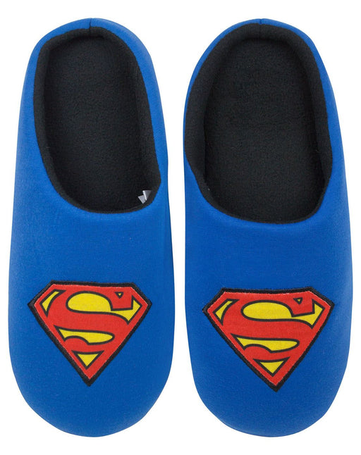 DC Comics Superman Men's Blue Slippers