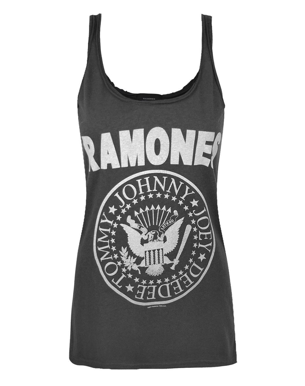Amplified Ramones Seal Logo Women's Vest