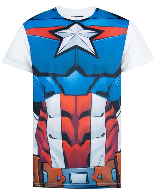 Marvel Captain America Costume T-Shirt