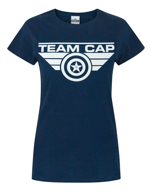 Captain America Civil War Team Cap Women's T-Shirt