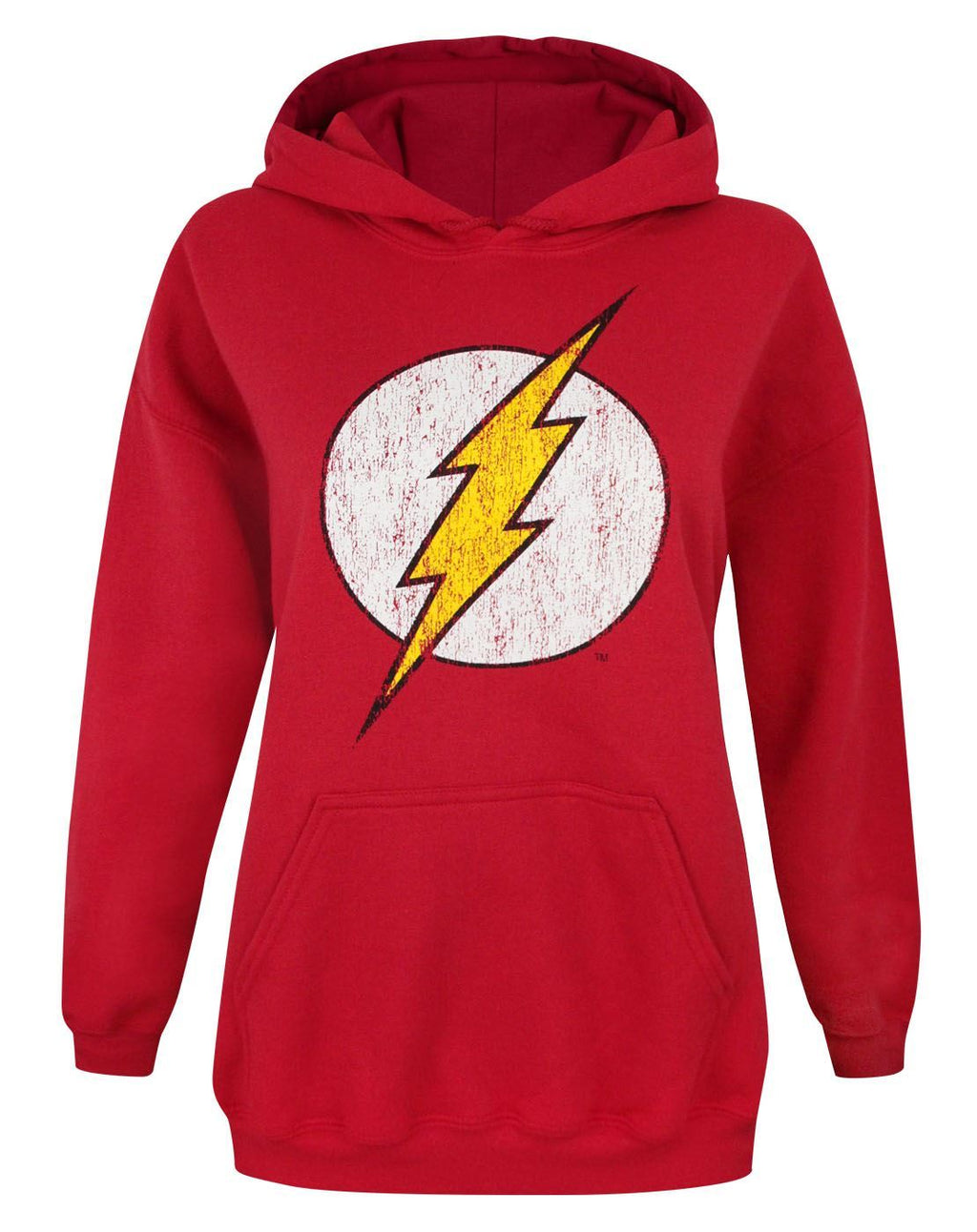 Flash Distressed Logo Women's Hoodie