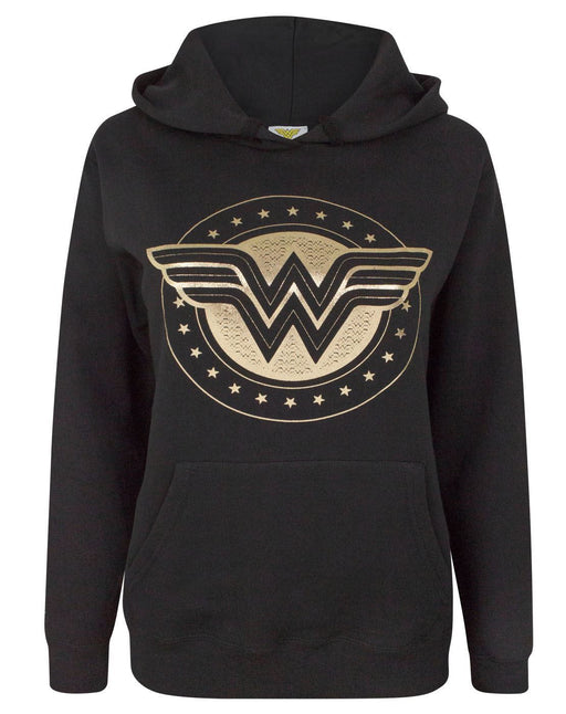 Wonder Woman Foil Shield Women's Hoodie