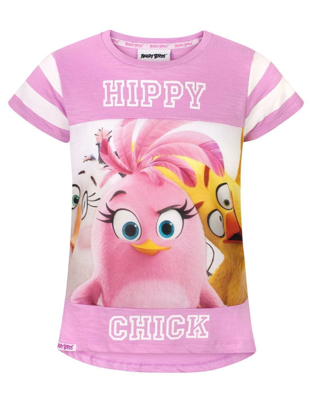 Angry Birds Hippy Chick Girl's T-Shirt