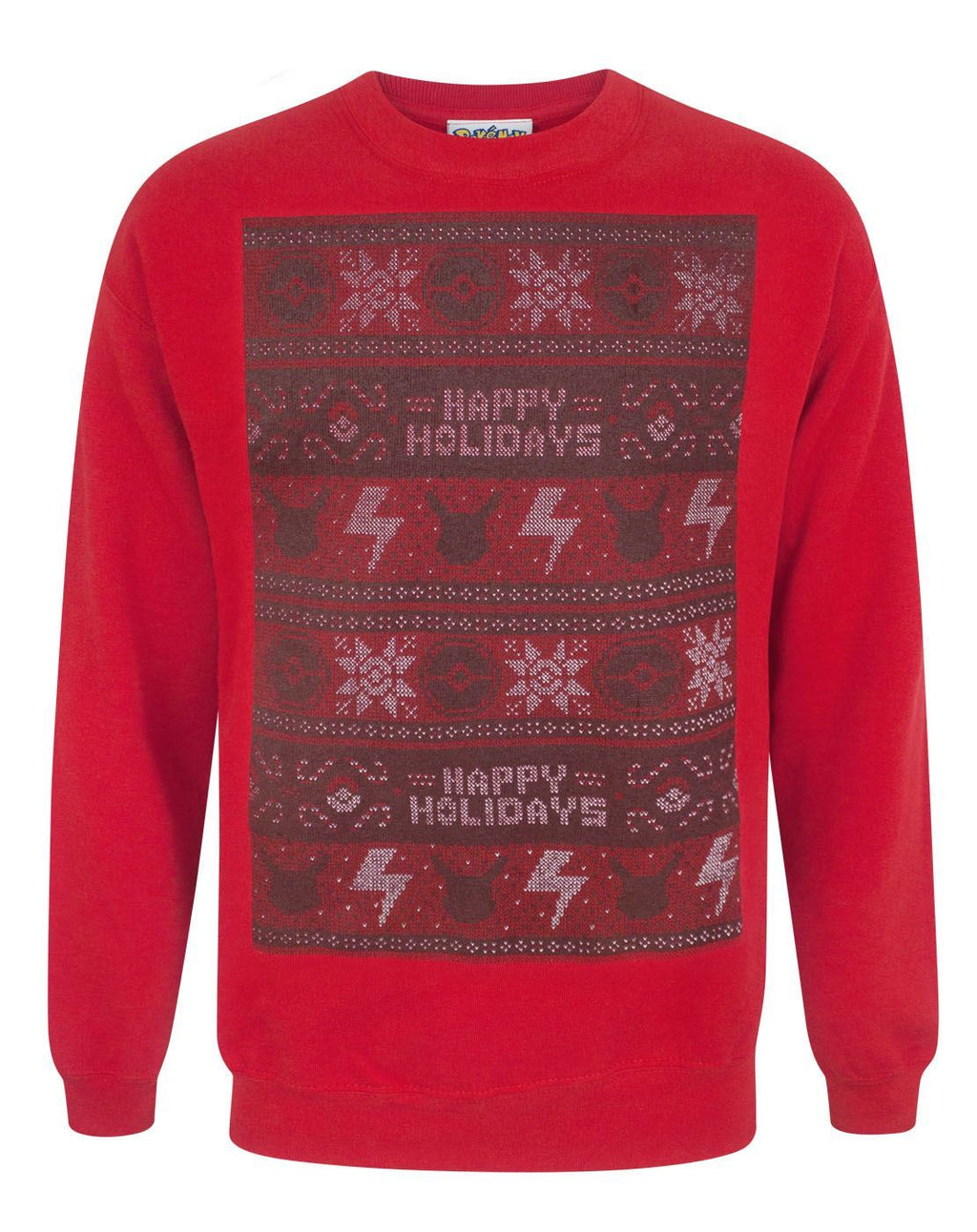 Pokemon Happy Holidays Men's Christmas Sweater