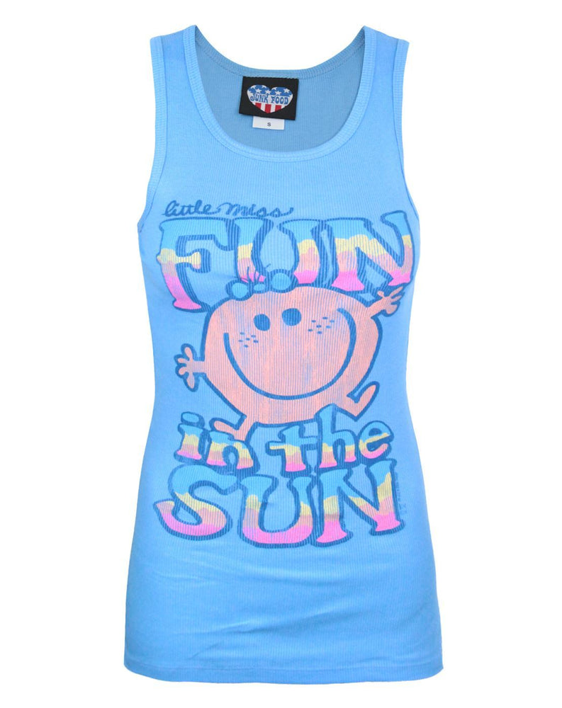 Junk Food Little Miss Fun In The Sun Women's Slim Vest