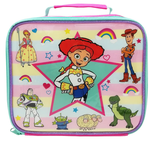 Disney Toy Story Jessie Character Lunch Bag and Water Bottle Bundle Set