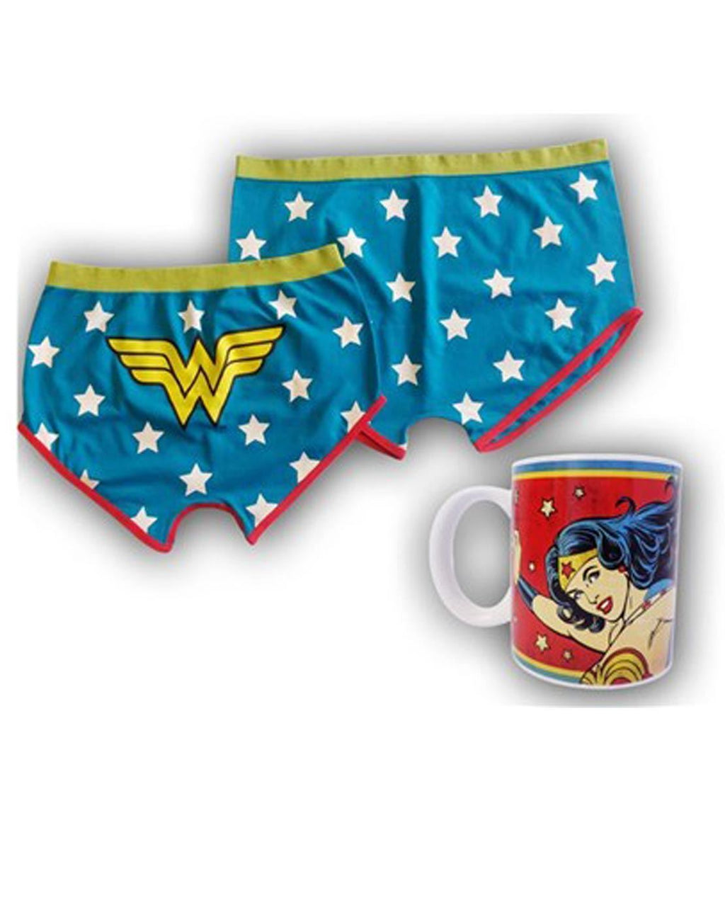 DC Wonder Woman Mug and Shorts Set