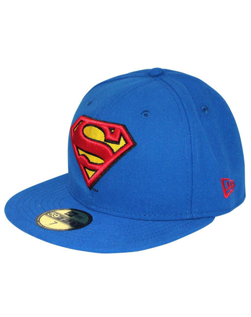 New Era 59Fifty Character Basic Superman Emblem Cap