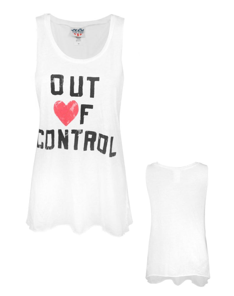 Junk Food Out Of Control Women's Vest