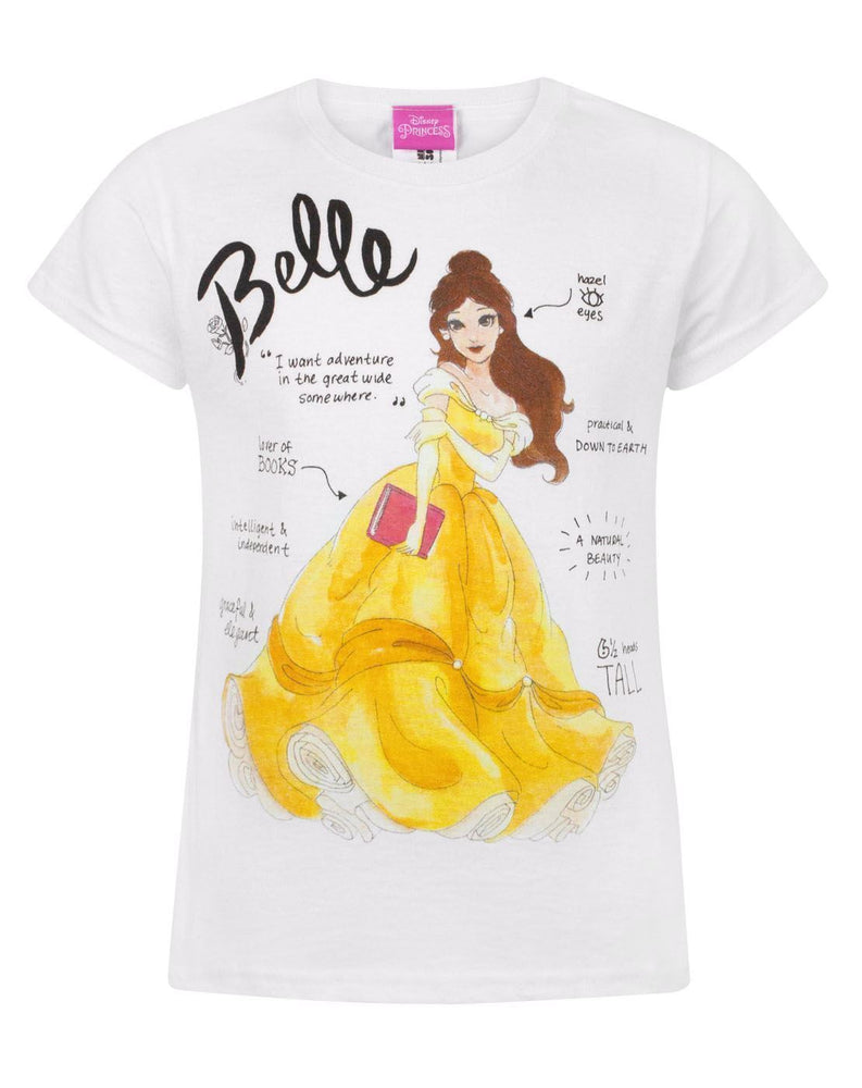 Disney Beauty And The Beast Belle Girl's T-Shirt