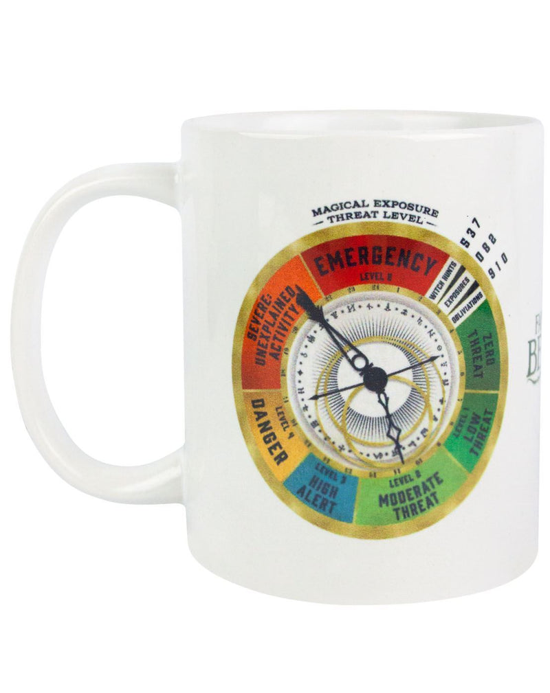 Fantastic Beasts And Where To Find Them Threat Level Mug