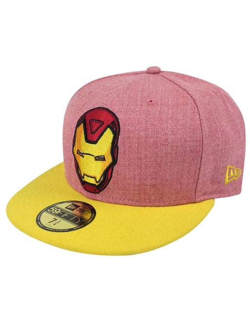 New Era 59Fifty Iron Man Heather Hero Cap