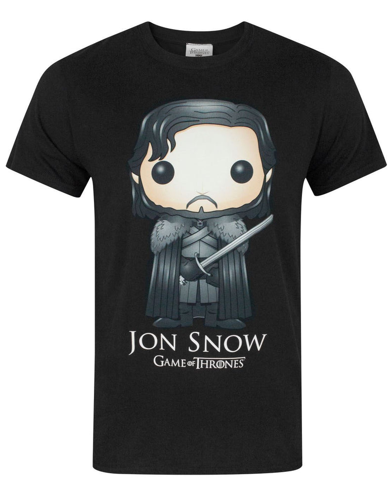 Game Of Thrones Funko Jon Snow Men's T-Shirt