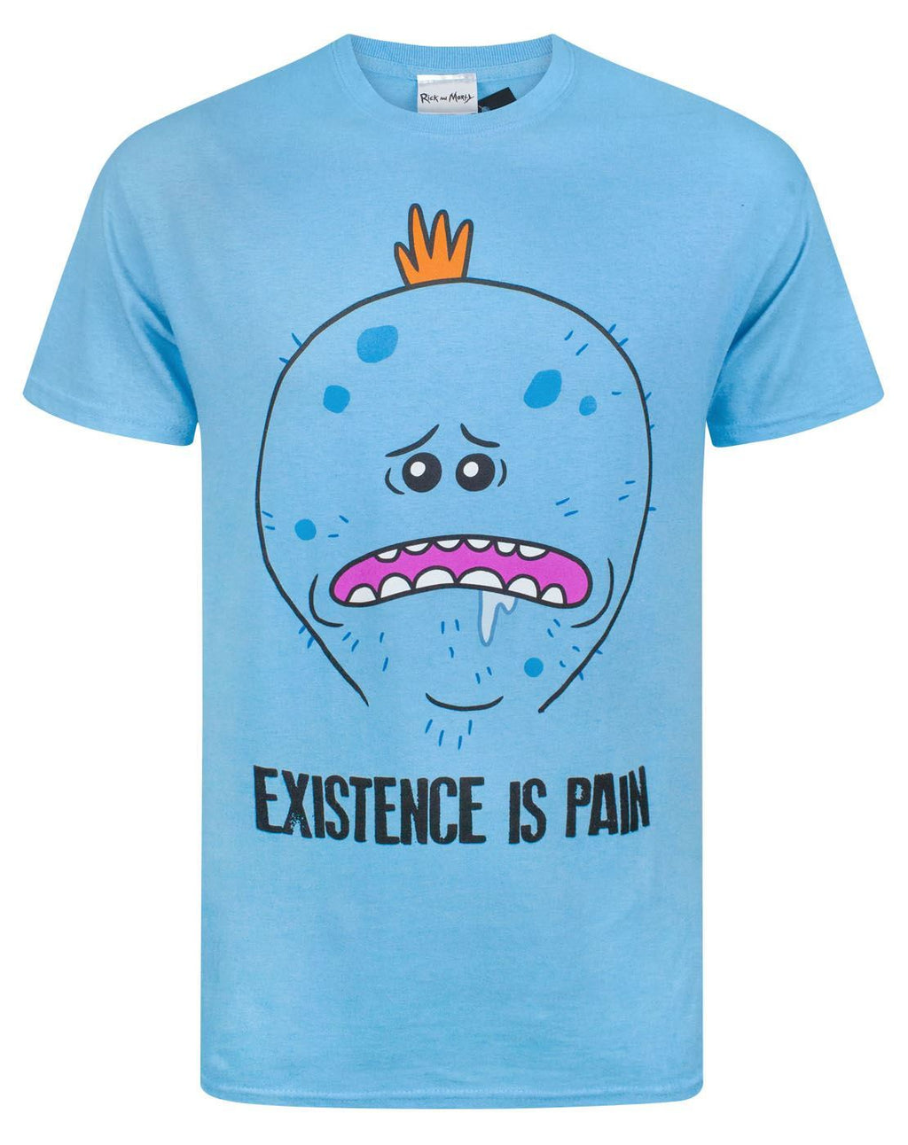 Rick And Morty Meeseeks Existence Is Pain Men's T-Shirt