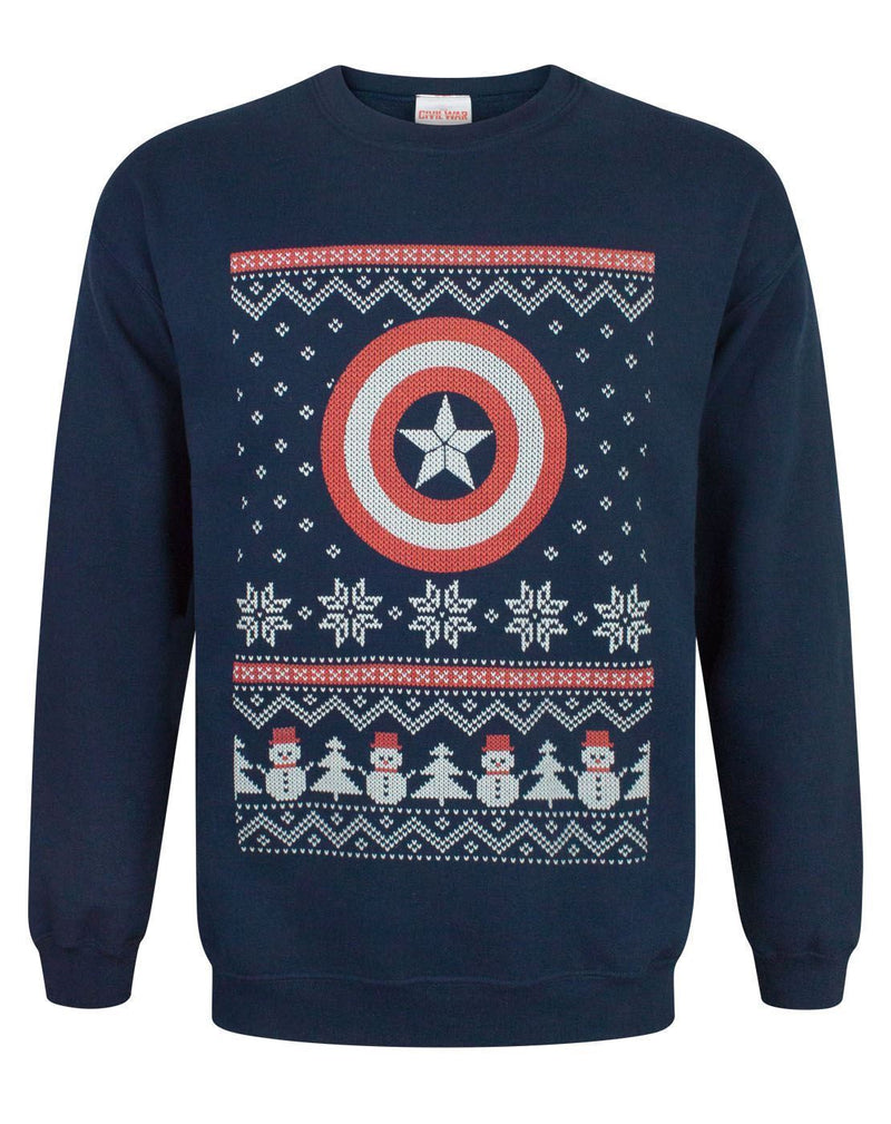 Marvel Captain America Christmas Sweatshirt