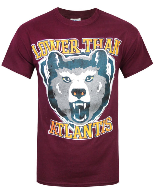 Lower Than Atlantis Bear Men's T-Shirt