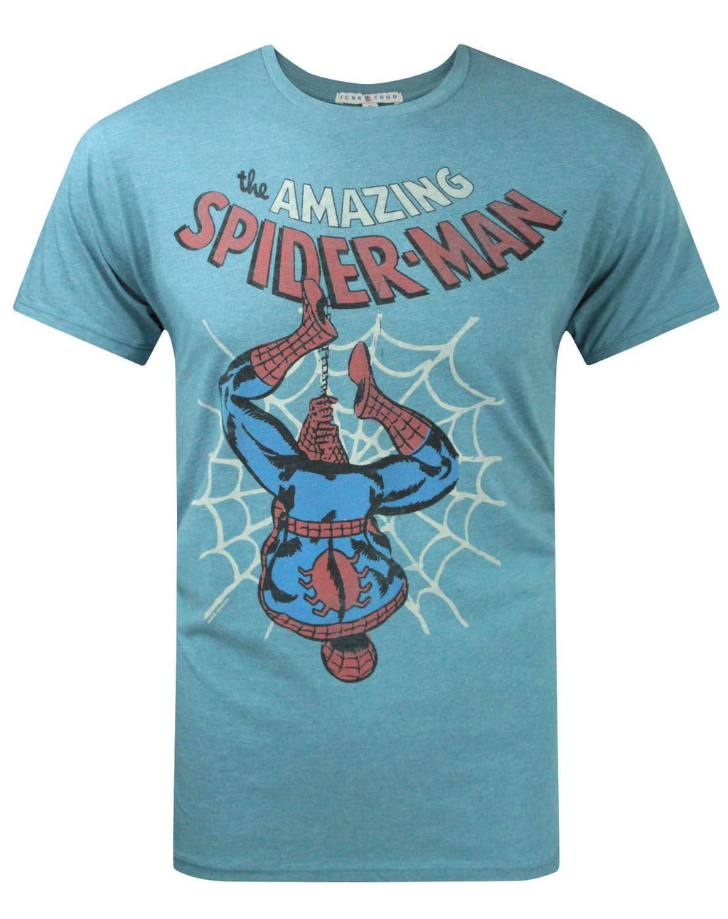 Junk Food Amazing Spider-Man Upside Down Men's T-Shirt