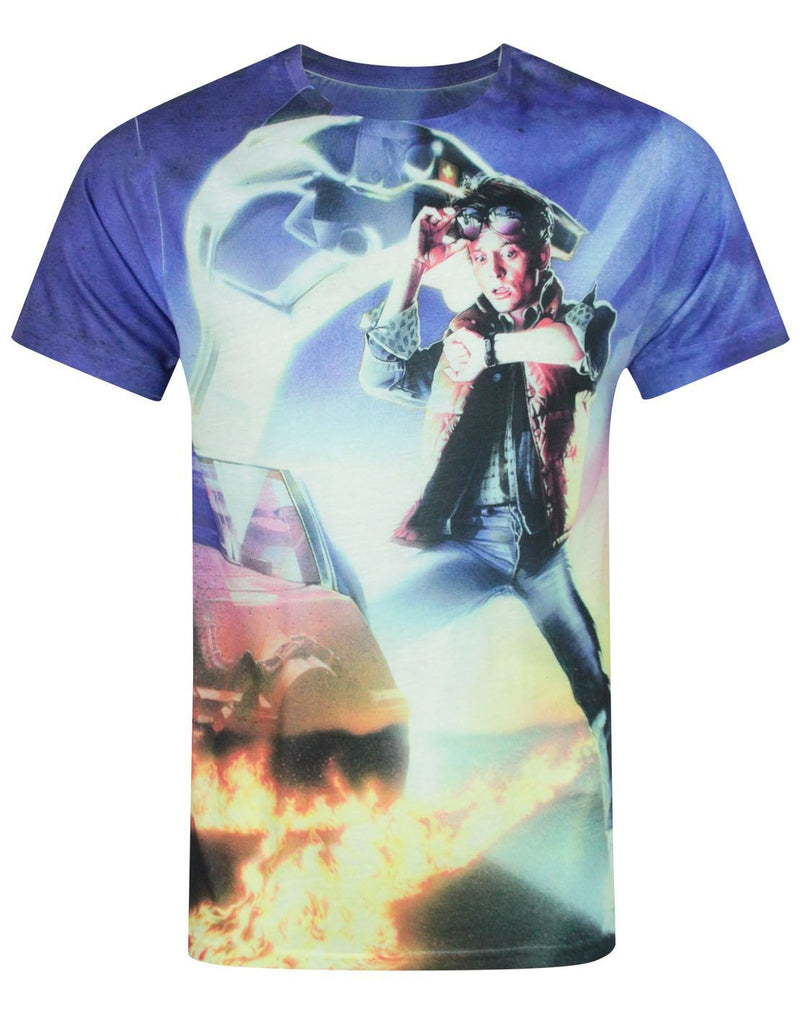 Back To The Future Sublimation Men's T-Shirt