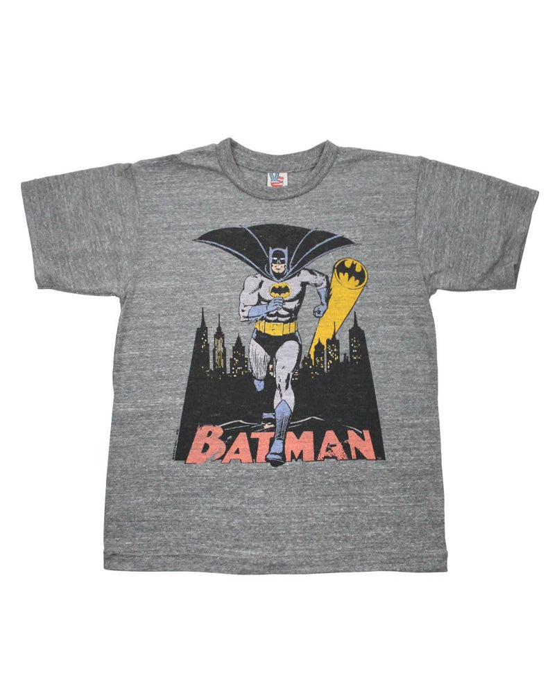 Junk Food Batman Bat Signal Kid's T-Shirt
