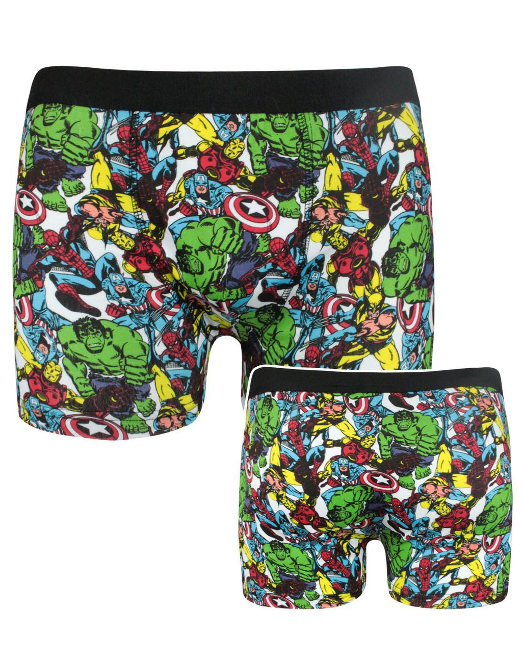 Marvel Heroes Men's Boxer Shorts
