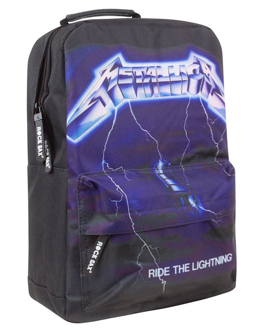 Rock Sax Metallica Ride The Lightning Backpack