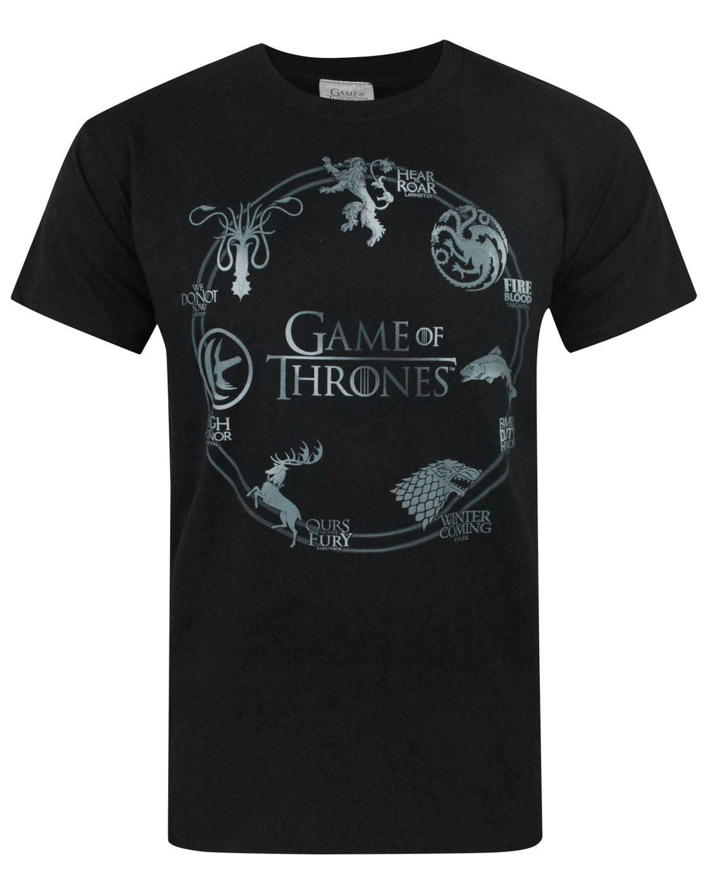 Game Of Thrones Silver Sigils Men's T-Shirt