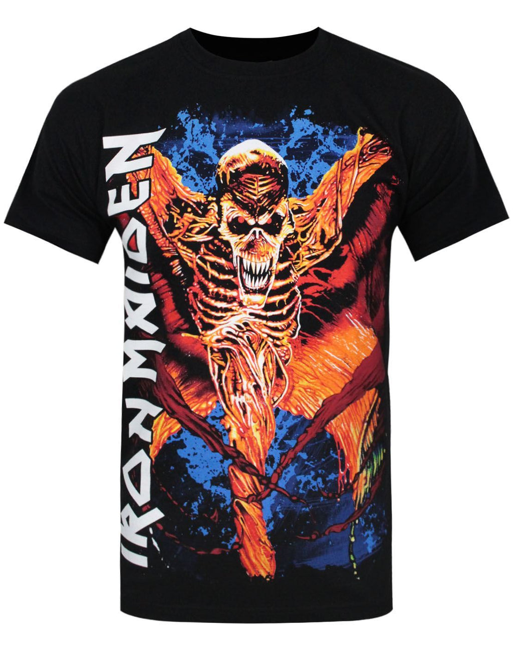 Iron Maiden Skeleton Vampyr Men's T-Shirt