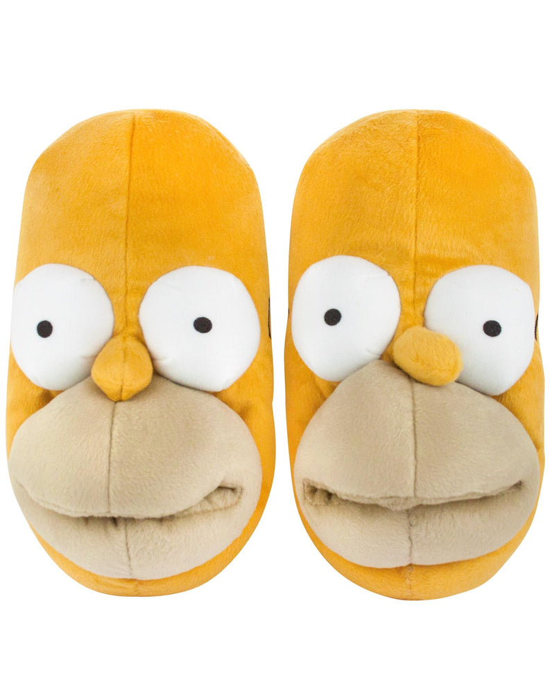 Simpsons Homer Marge Bart Plush Lisa Krusty Clown Christmas Slippers Official Merchandise Animated Television Birthday Gift Footwear Pyjamas Itchy Scratchy Mens Slip on Shoes Mules House Comfy Groening Flanders 3D