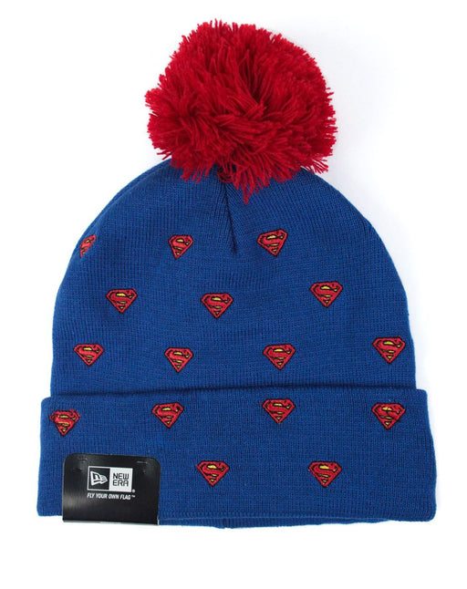 New Era Spotted Character Superman Knit Hat