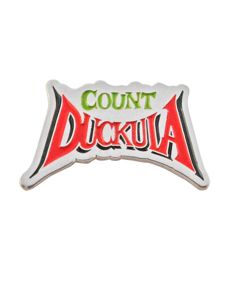 Count Duckula Metal Pin Badge