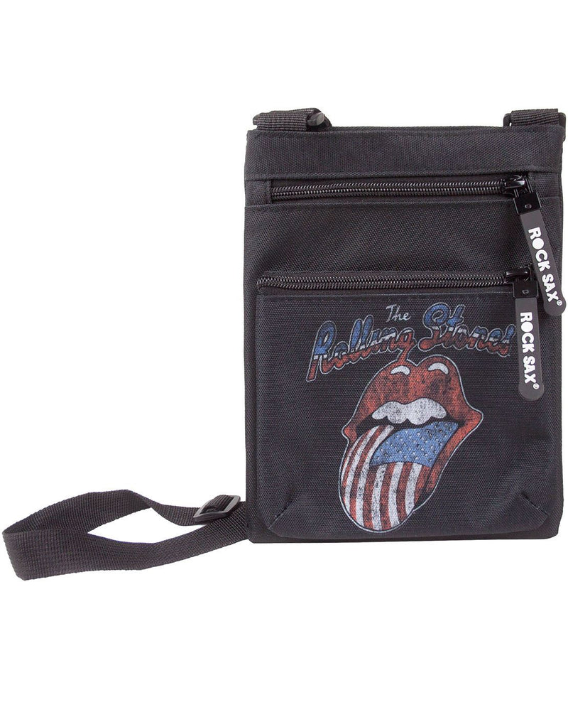 Rock Sax Rolling Stones USA Tongue Body Bag